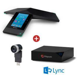 Realpresence 8800 Trio Collaboration Kit com EagleEye Mini - Skype for Business