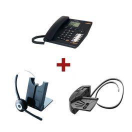 Alcatel Temporis 880 + Auricular Jabra Pro 920 + Atendedor