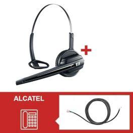 Para telefones Alcatel: Sennheiser D10 Phone + atendedor