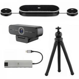 Pack videoconferência Sennheiser Expand 80T + Microfones