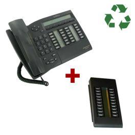 Alcatel Advanced Reflexes reacondicionado + Módulo de extensão 20 teclas