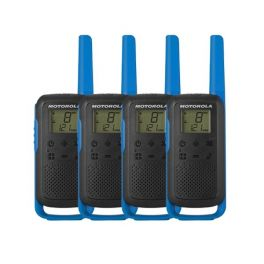 Pack quarteto Motorola Talkabout T62 Azul