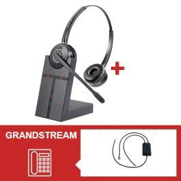 Pack auricular Cleyver HW25 para Grandstream