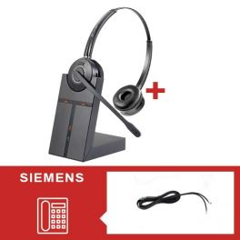 Pack auricular Cleyver HW25 para Siemens - Segunda versão