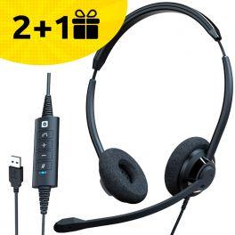 Por cada 2 auriculares Cleyver HC65 comprados, 1 de oferta