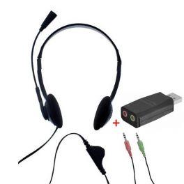 T'nB First Auricular Duplo Jack com adaptador USB