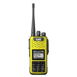 Capa Frontal com ecrã e 16 teclas para TAIT TP3300 - Amarelo