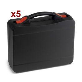 Pack 5x Mala profissional adaptável para walkie talkies