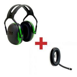 3M Peltor X1A + Micro auricular Bluetooth Serie X