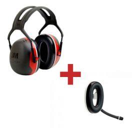 3M Peltor X3A + Micro auricular Bluetooth