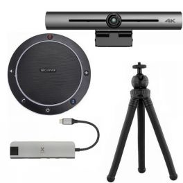 Pack videoconferência Cleyver CC60 com barra 4K