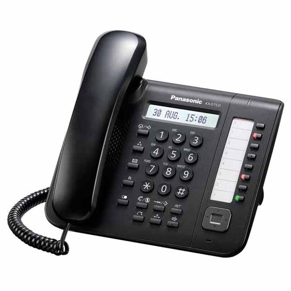 Panasonic KX-DT521 Preto
