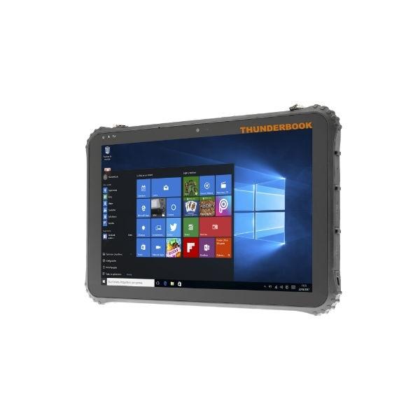 Thunderbook Colossus W125 - C1220G - Windows 10 iot - Leitor código de barras