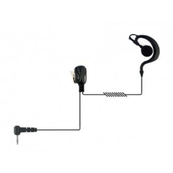 Auricular gancho 2 pins Motorola, cabo resistente
