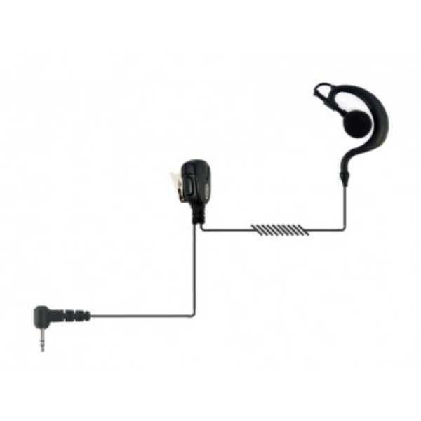 Auricular gancho 1 pin Motorola para walkie talkies