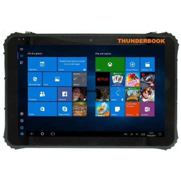 Tablet Thunderbook Colossus W125 - C1220G - Windows 10 (Leitor código de barras)