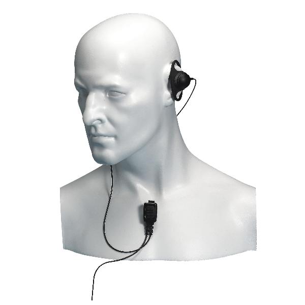 Auricular de gancho e microfone Entel HT ATEX