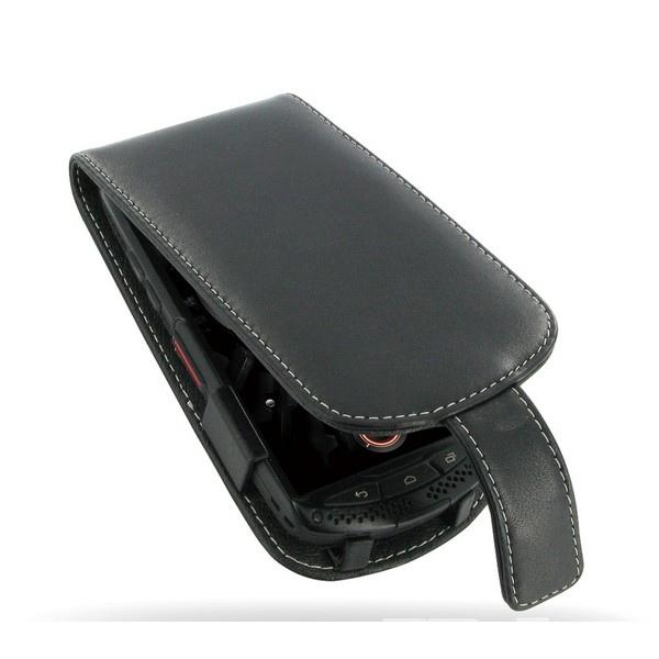 Bolsa de couro para Kyocera Torque