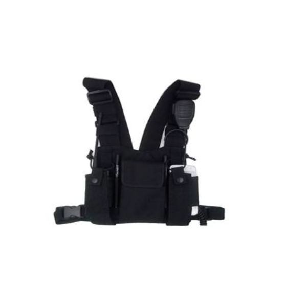 Mochila de peito HRT-LC-999 para walkie talkies