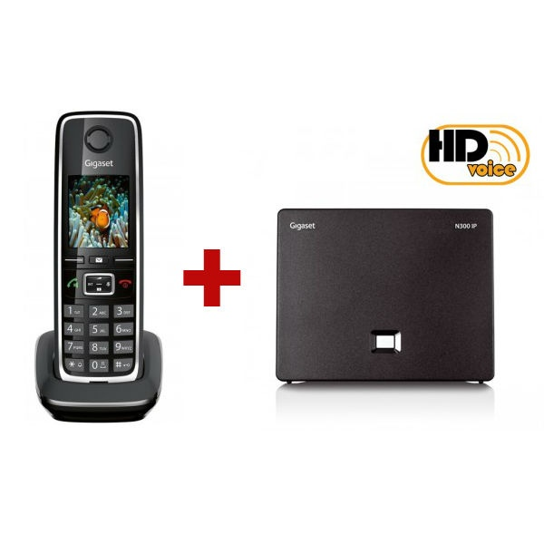 Gigaset N300 IP + 1 terminal adicional Gigaset C530HX