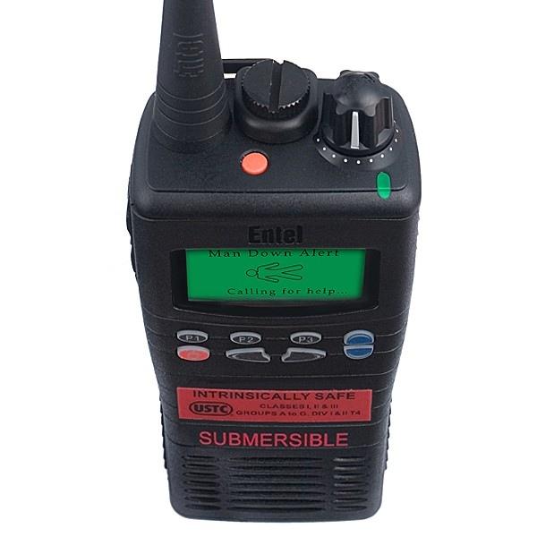Walkie talkie Entel HT885 UHF ATEX