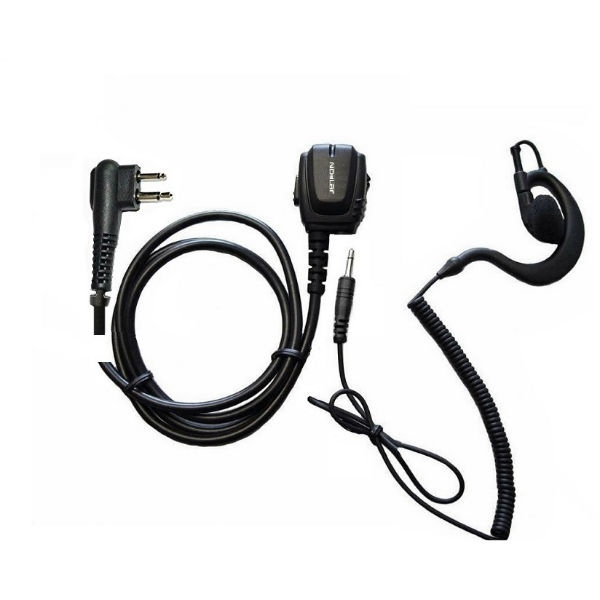 Micro-auricular Motorola 2 pins + Auricular gancho