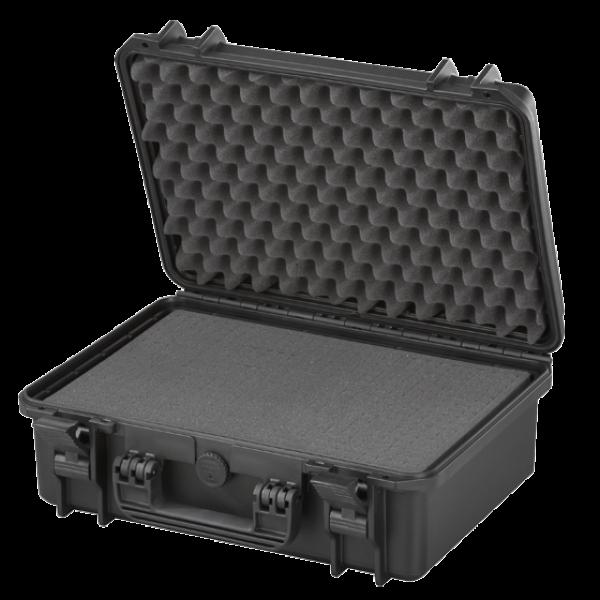 MAX430S Preta - Mala resistente com espuma