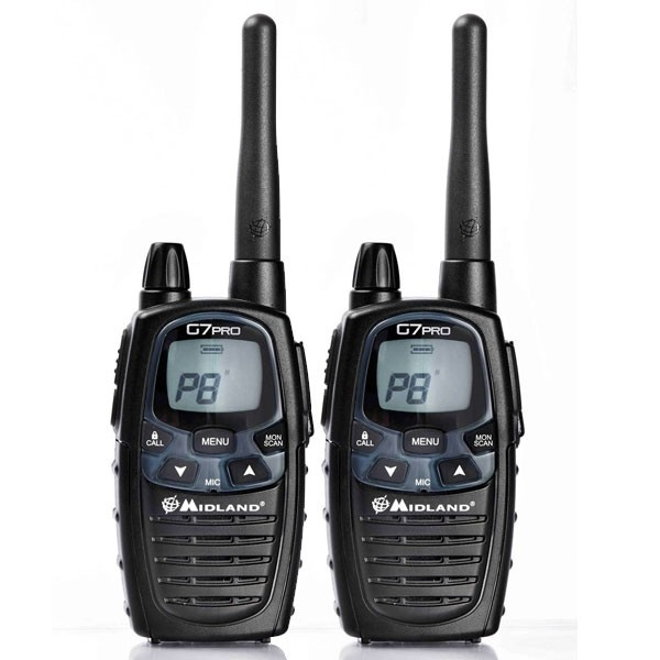 Par de walkie talkies Midland G7L PRO