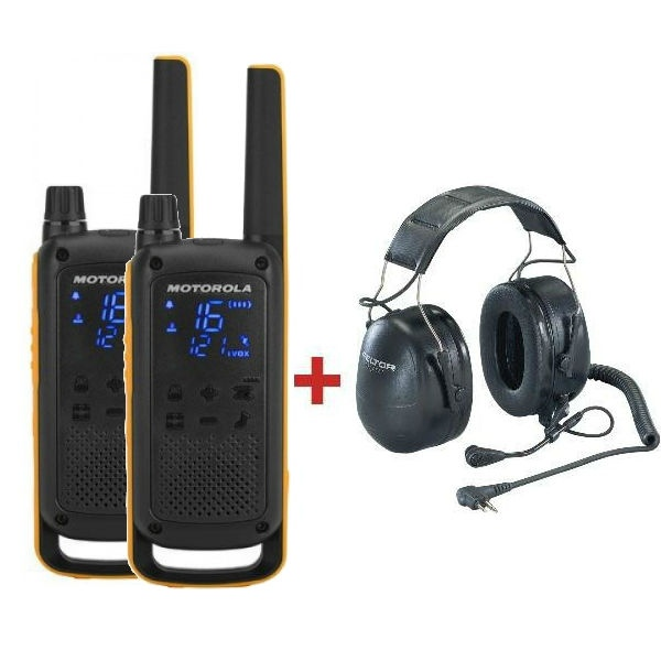 Motorola TLKR T82 Extreme + Peltor Headset Flex