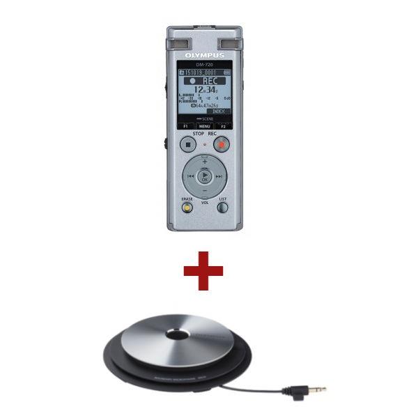 Olympus DM-720 + microfone ME-33