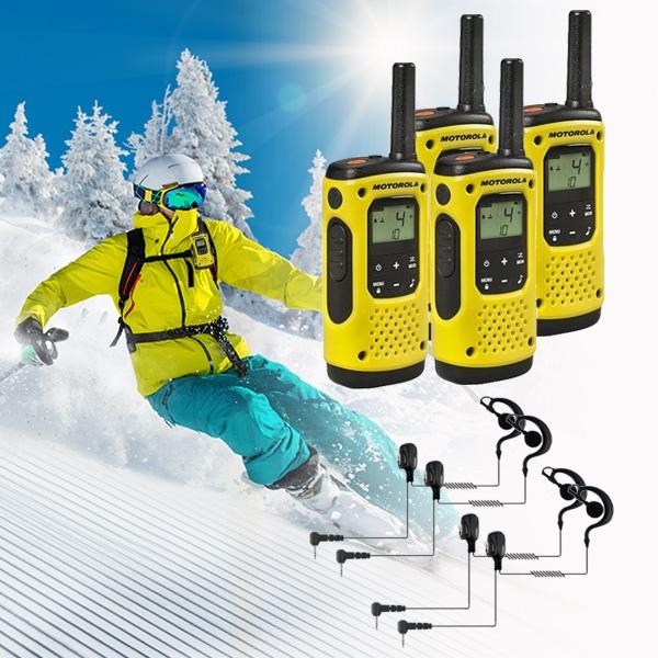 4 Motorola T92 H2O + 4 Auriculares