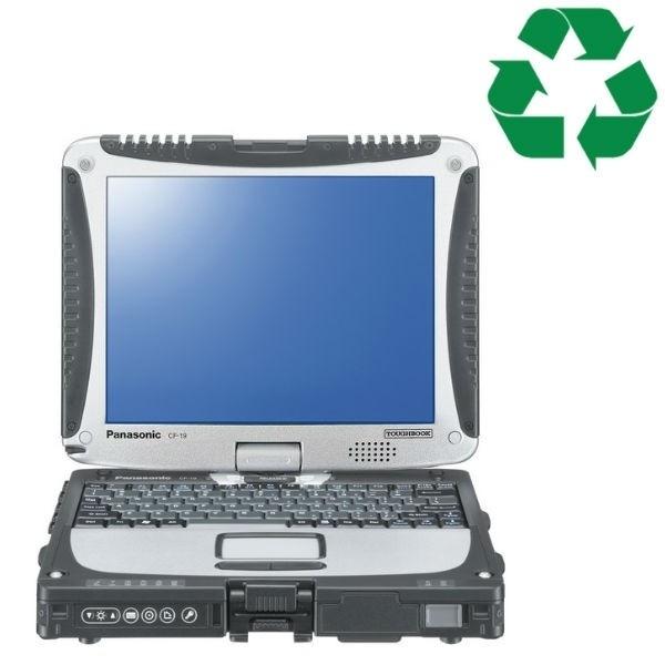 Panasonic Toughbook CF19 - 2GB - 500GB - C2D - W10 - Recondicionado