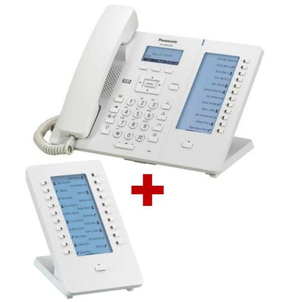 Panasonic KX-HDV230 Branco com extensão de teclado