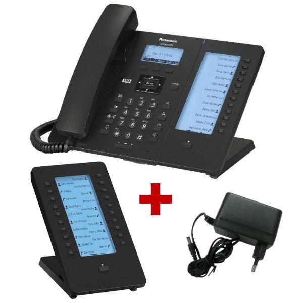 Panasonic KX-HDV230 com alimentação + expansão de teclado