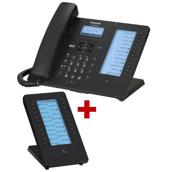 Panasonic KX-HDV230 com expansão de teclado