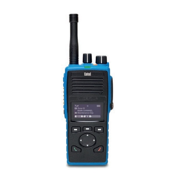 Entel DT825 VHF ATEX com ecrã