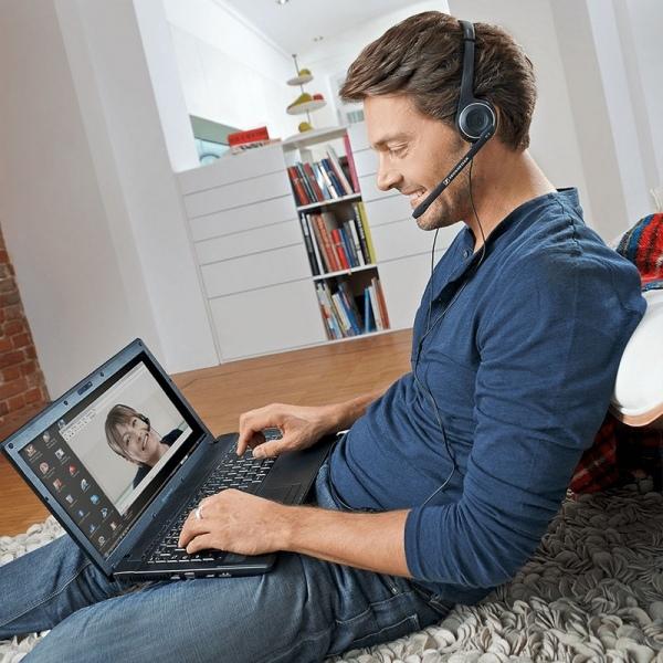 Sennheiser PC 8 USB - Auriculares