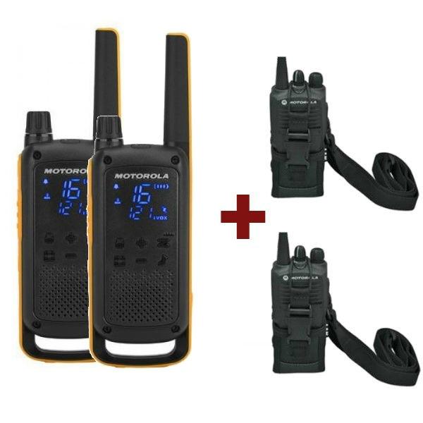 Motorola TLKR T82 Extreme + 2 Bolsas de proteção