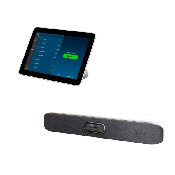 Kit de videoconferência All-in-One: Poly StudioX30 + Poly TC8