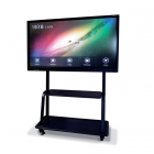 Suporte Móvel Basic preto para monitores MultiClass