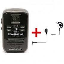 Pack Dynascan 1D com auricular