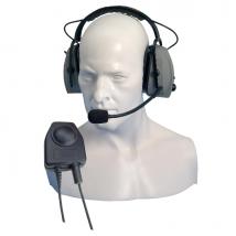 Entel CHP750D Protetor auditivo com micro para a serie HT