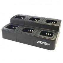 Carregador múltiplo Jetfon para Kenwood (6 posições)