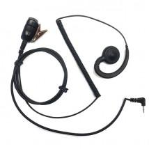 Kit auricular higiénico conexão Motorola 1 pin