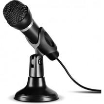Microfone de mão Jack 3,5 mm