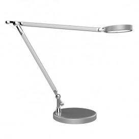 Lâmpada LED de secretária Unilux Senza Cinzento metálico