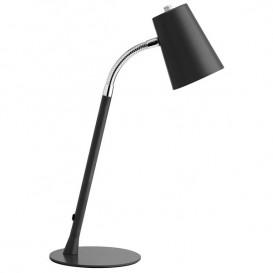 Lâmpada de escritório LED Unilux Flexio Preto