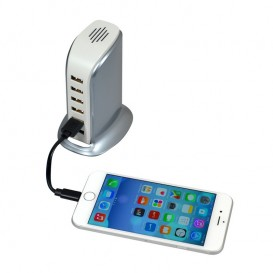 Carregador USB de parede 6 portas