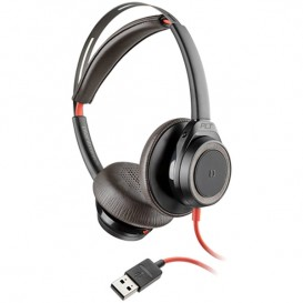 Plantronics Blackwire 7225 USB-A - Preto