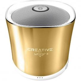 Creative WOOF3 Dourado – Coluna Bluetooth